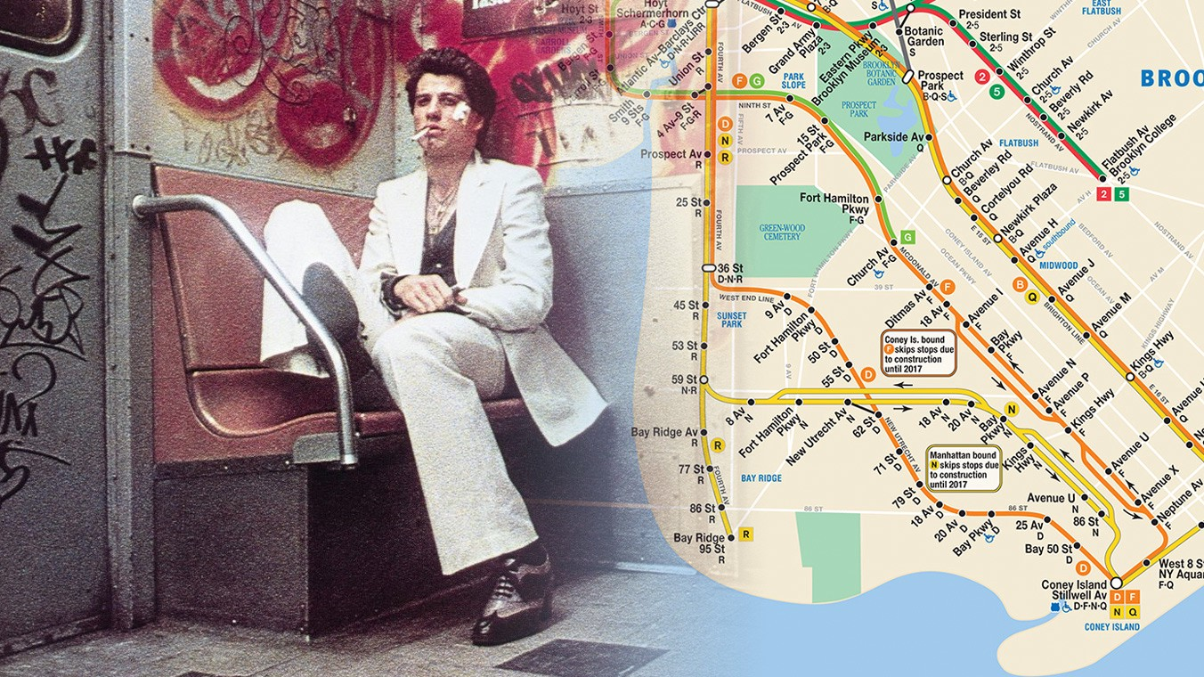 1980 Nyc Subway Map.Underground Cinema 12 Essential Nyc Subway Movies