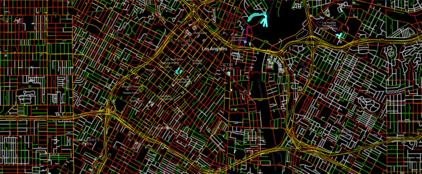 Traffic Data supporting HERE and TomTom maps using OpenLR