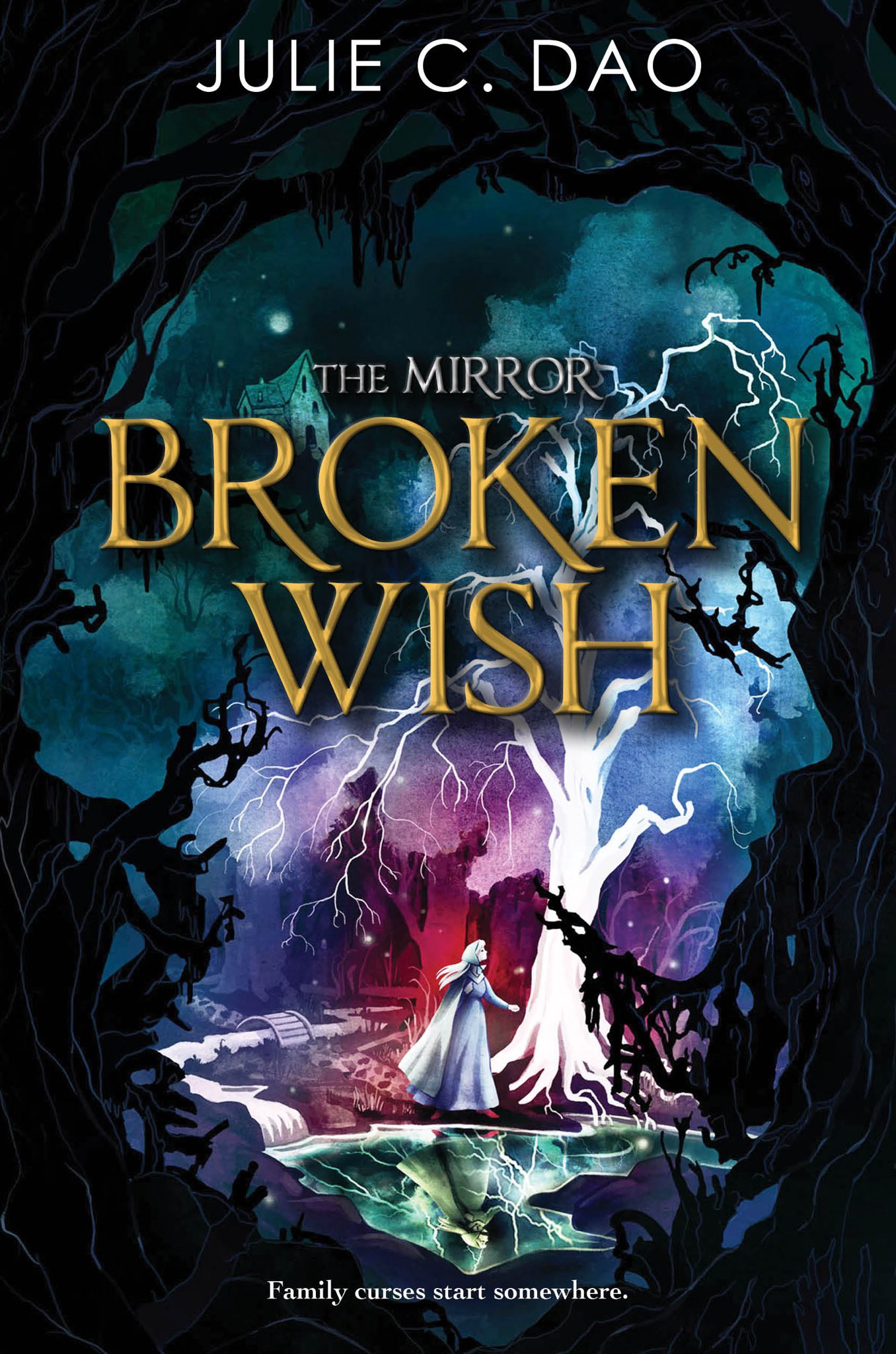 The Mirror: Broken Wish by Julie C. Dao cover