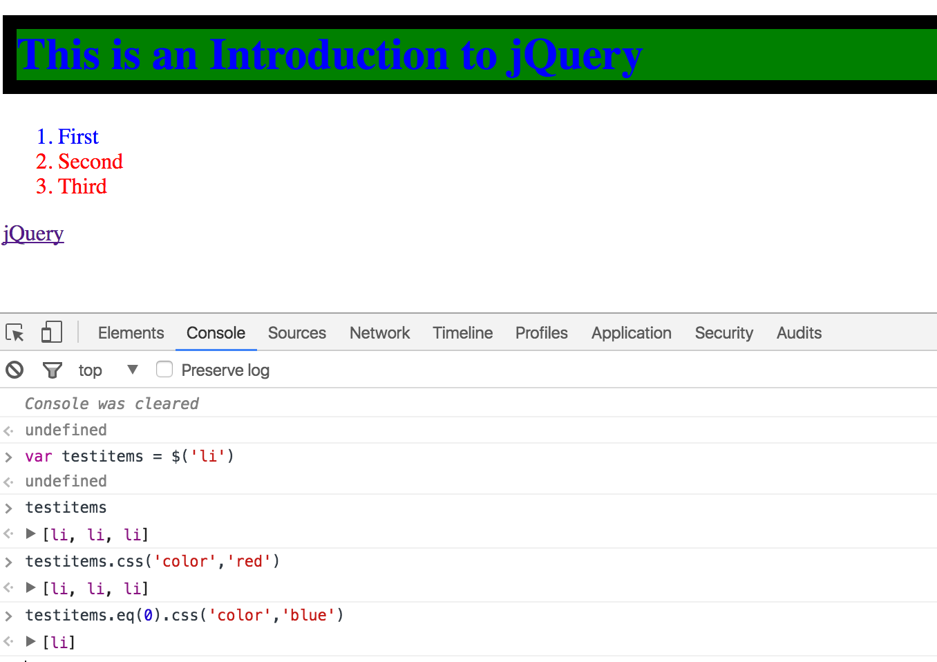 100 Days of DevOps — Day 97-Introduction to JQuery