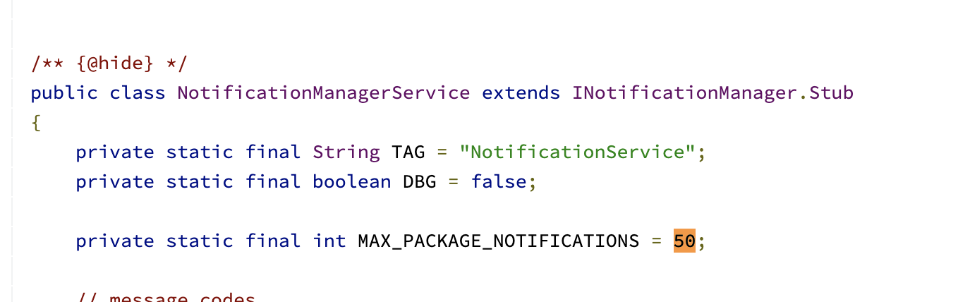 NotificationManagerService