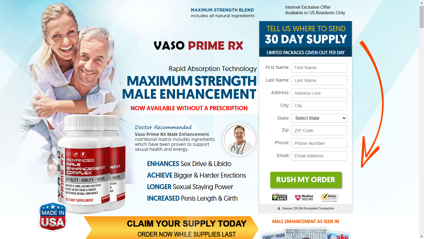 Vaso Prime Rx United States What Is The Vaso Prime Rx Reviews