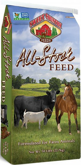 Sweet Country Feeds 12% Protein All-Stock Feed Farm Animal & Horse Feed