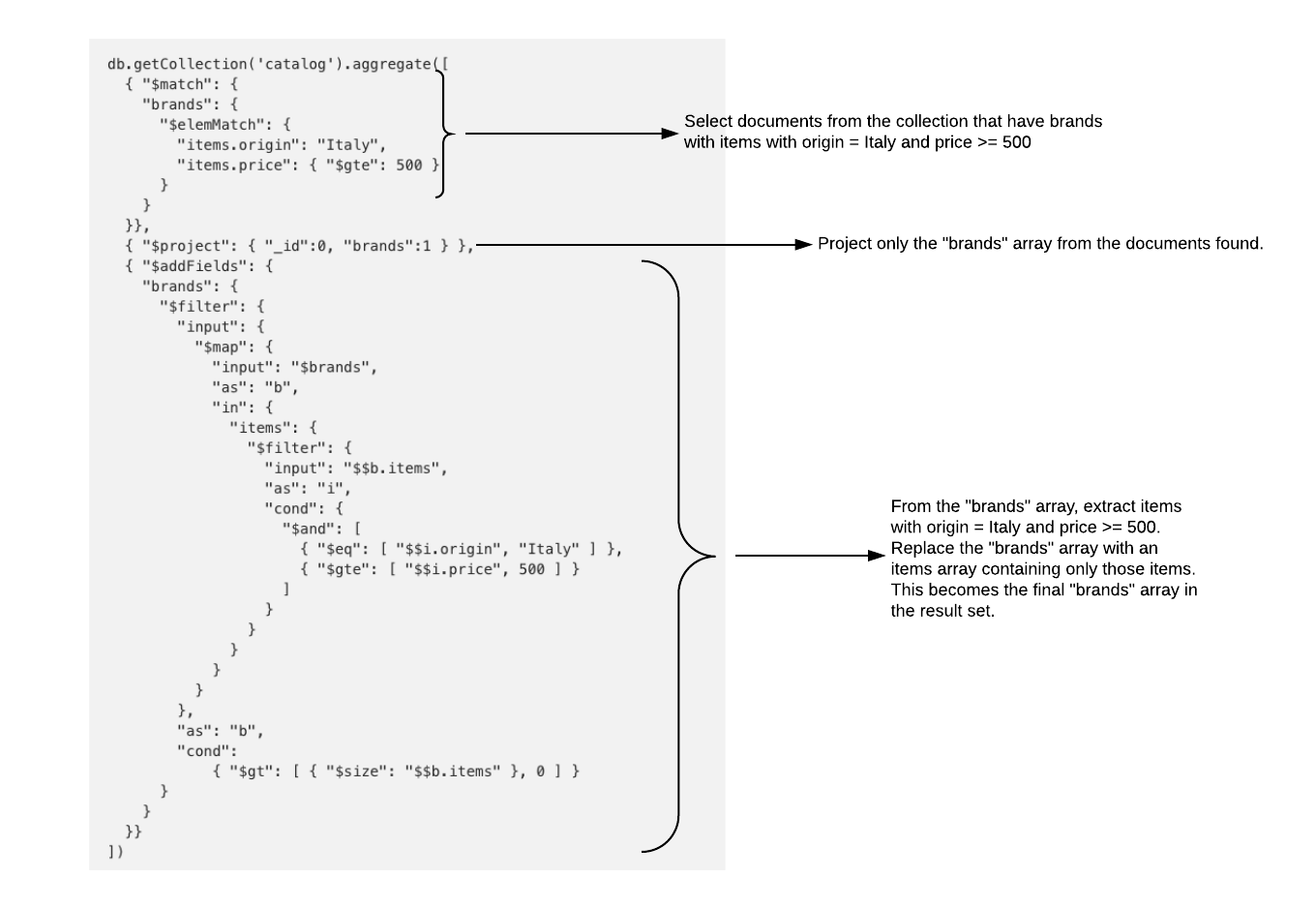 Fetching Nested MongoDB Subdocuments in Golang using the mgo