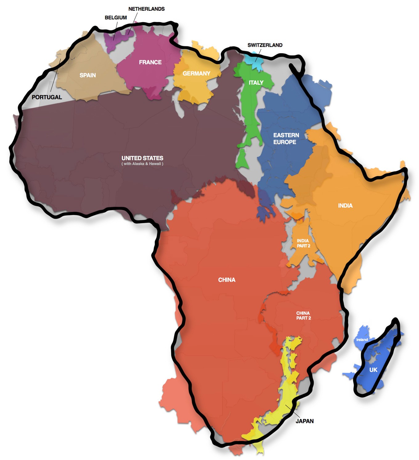 Picture of: Africa 2050 Skin Color Variation In The Continent By Rev I Ag Nouh Yattara Medium
