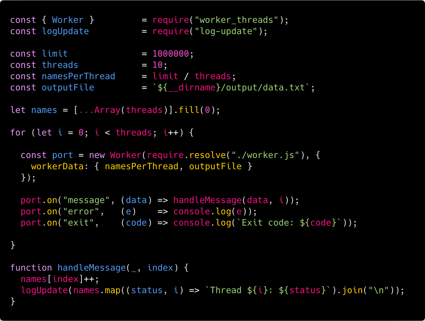 Going Multithread with Node js - ITNEXT