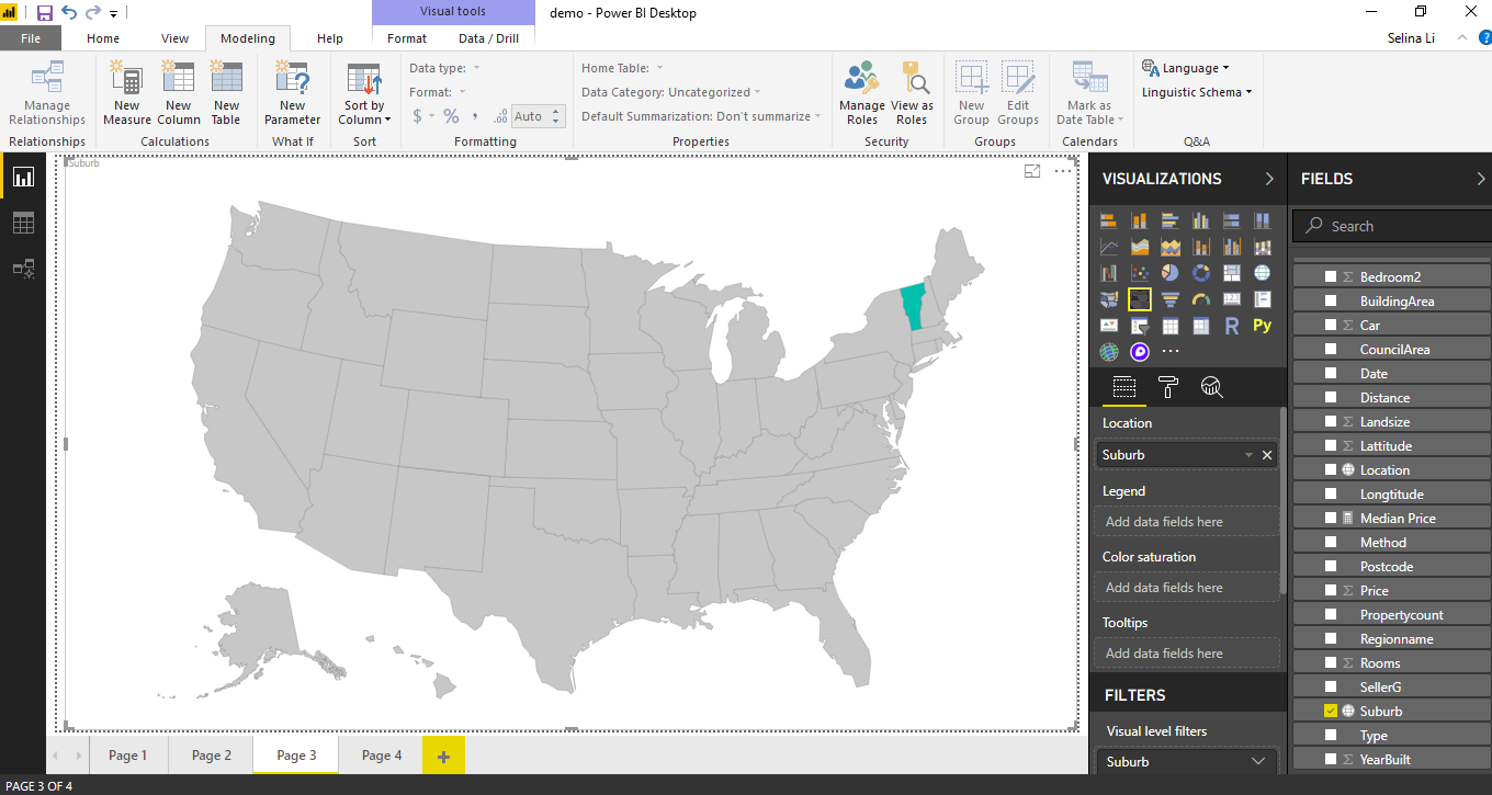 Power BI Custom Maps — Part II: Shape Map - WeAreServian