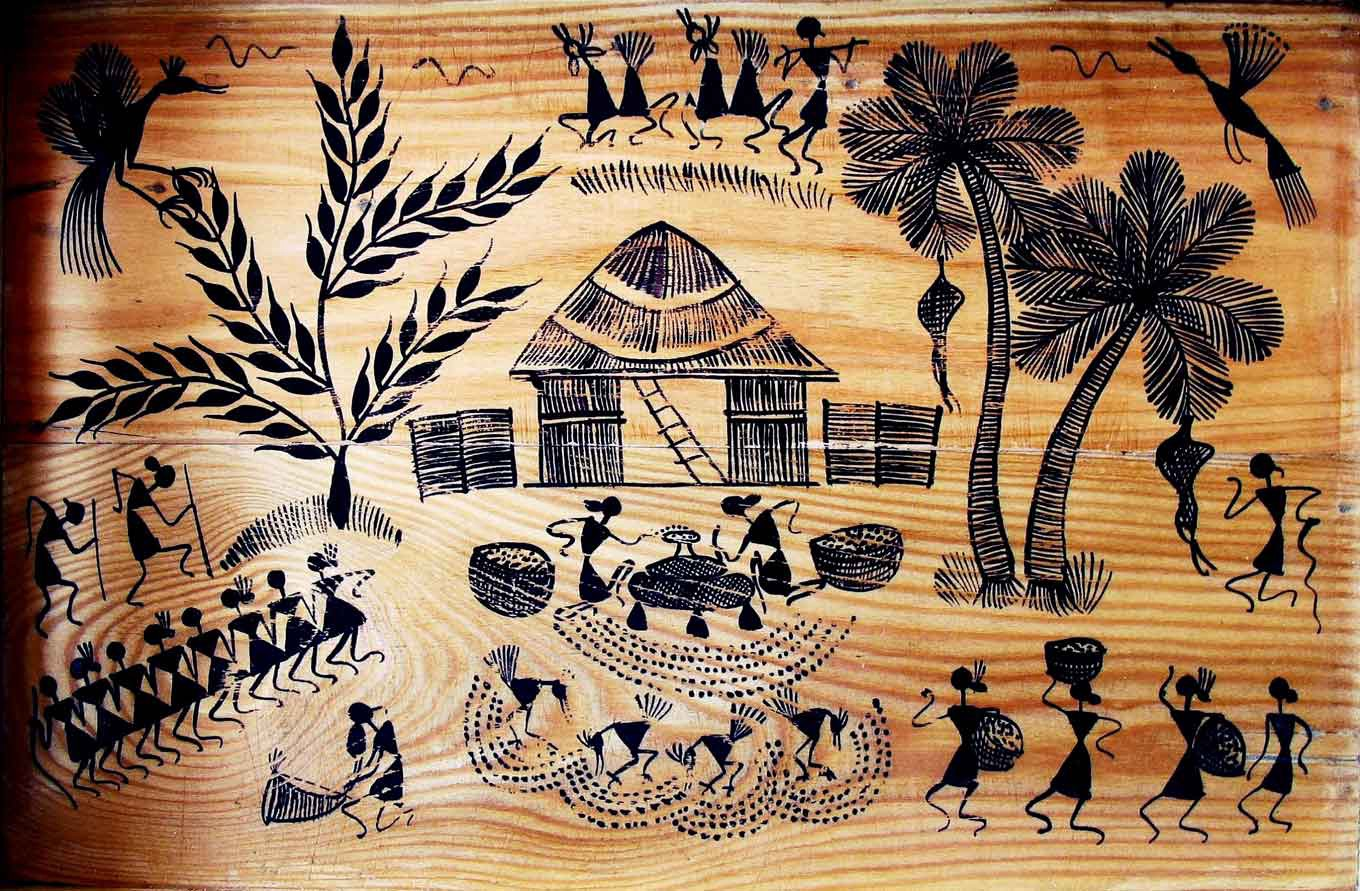 The History And Origin Of Warli Painting By Anand Vilhat Medium