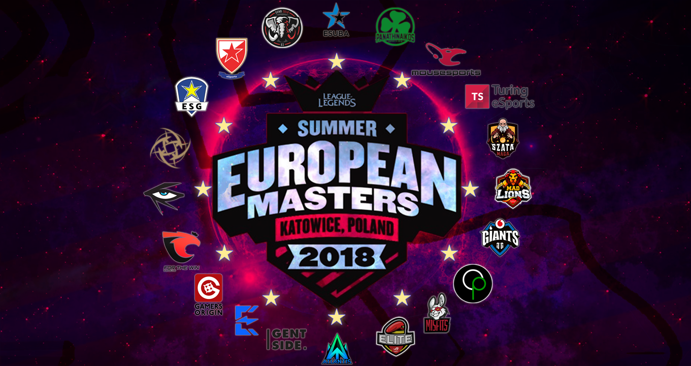 EU goes 13: your Ultimate Guide to EU Masters teams!