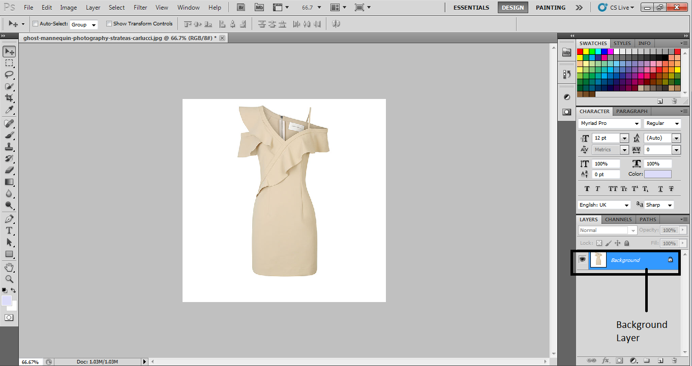 How To Change Color Of Clothes In Photoshop Photoshop Cs5 By Abigail Brown Medium