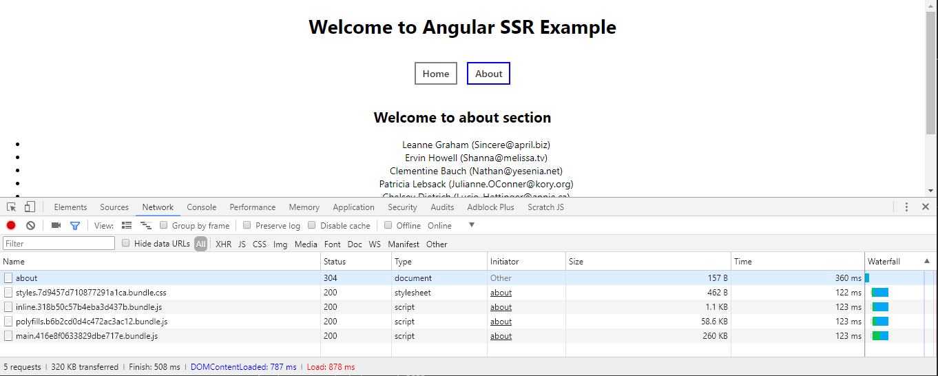 Server Side Rendering (SSR) in Angular 5+ | The simplest and