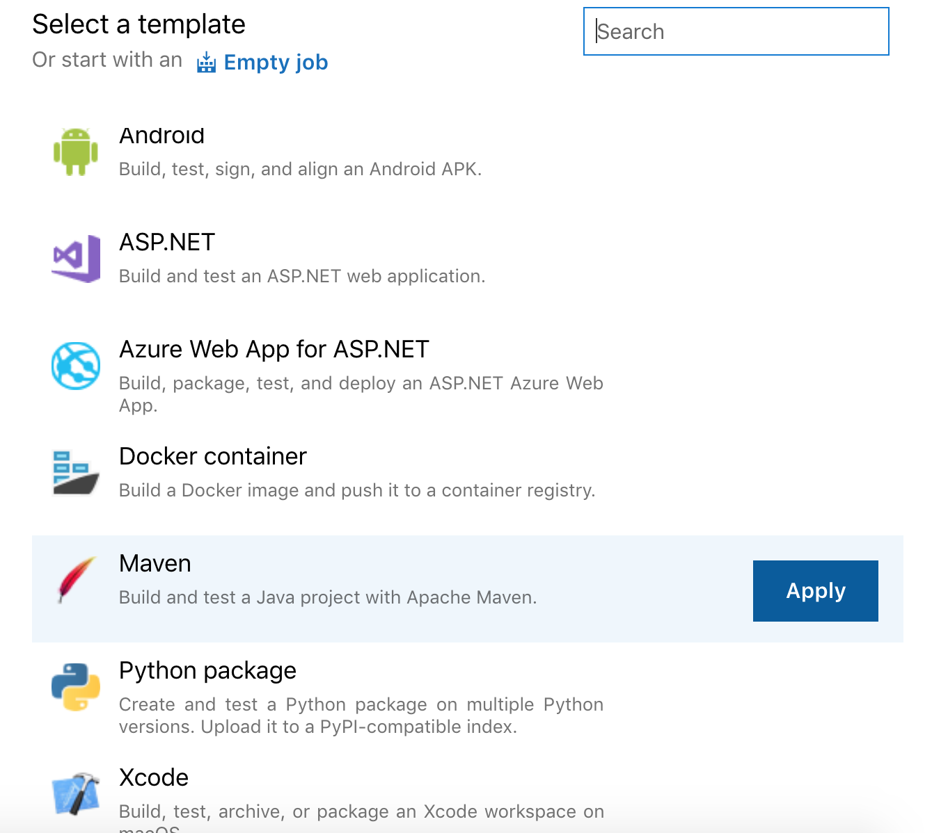 Deployment of Azure Functions written in Java using the ftps
