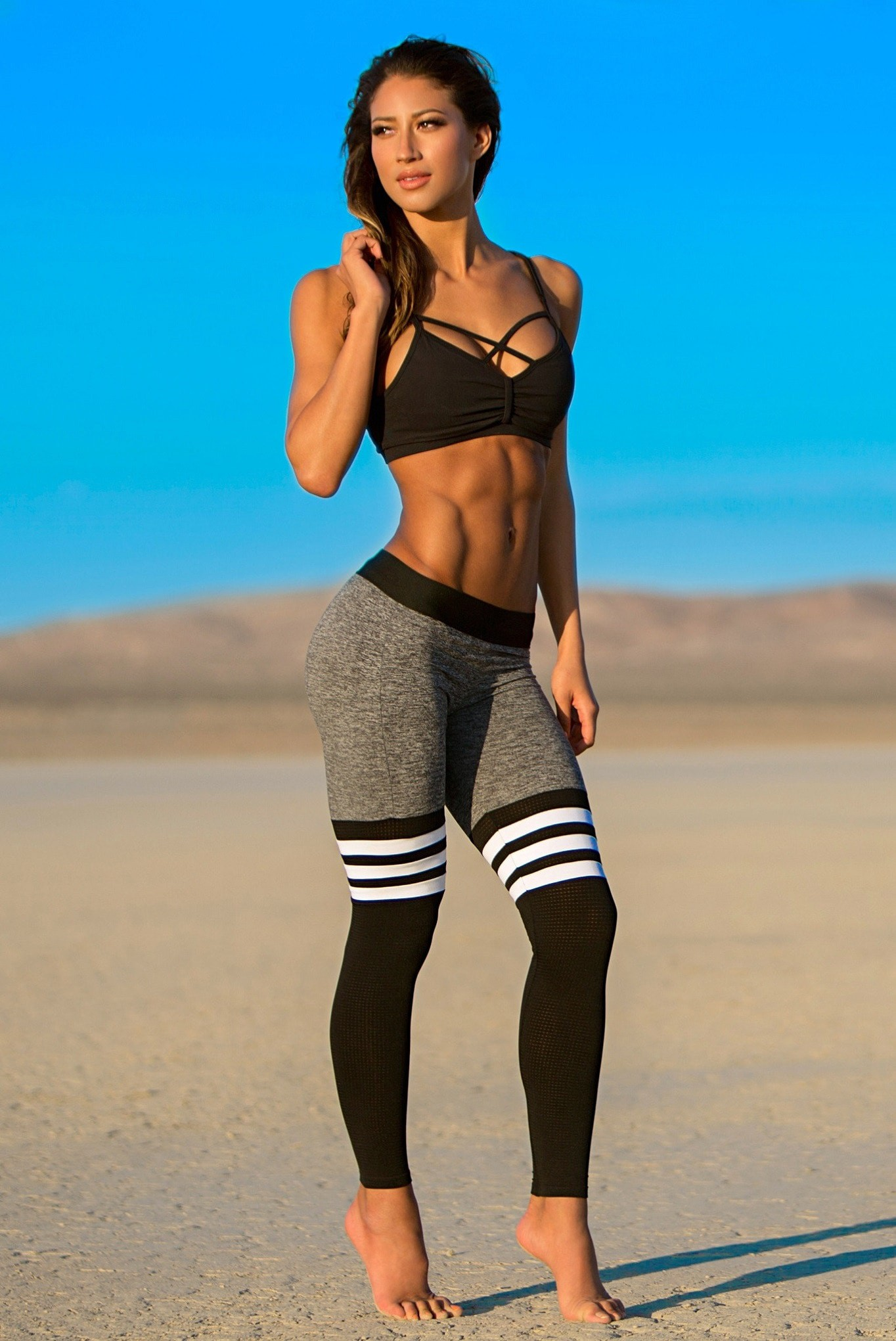 marketable double coupon coupon codes Bombshell Sportswear Thigh High Sock Leggings - Trisha Rose ...