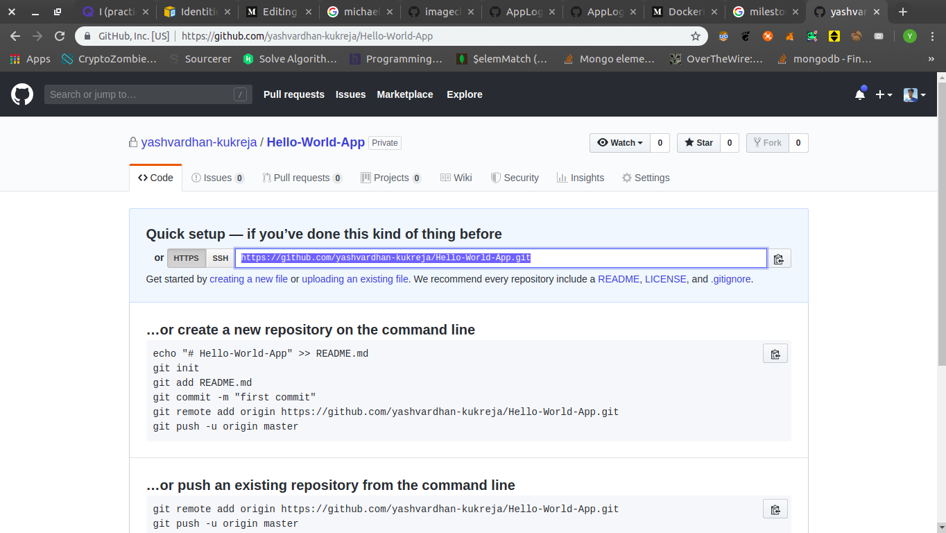 AWS-ify a NodeJS app with a sweet sprinkle of docker and CI