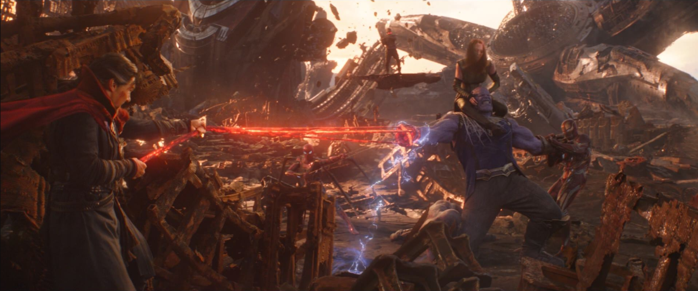The Battle of Titan in 'Avengers: Infinity War'