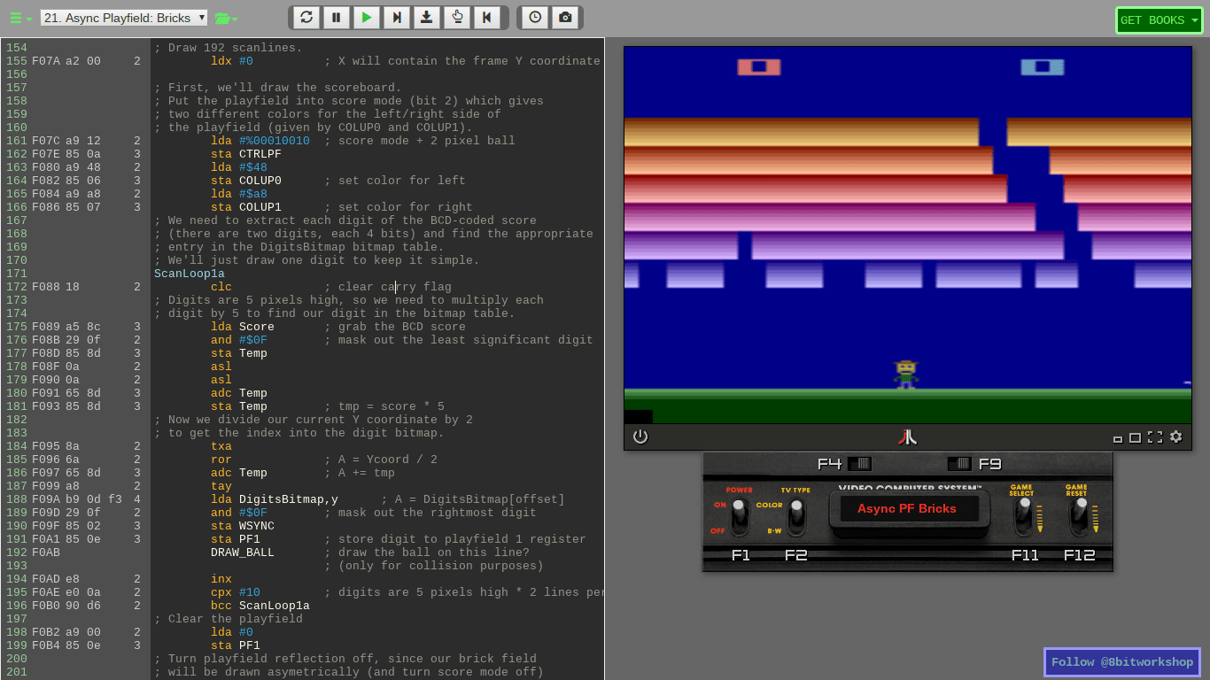 Use the 8bitworkshop IDE to Design 8-Bit Gaming Platforms