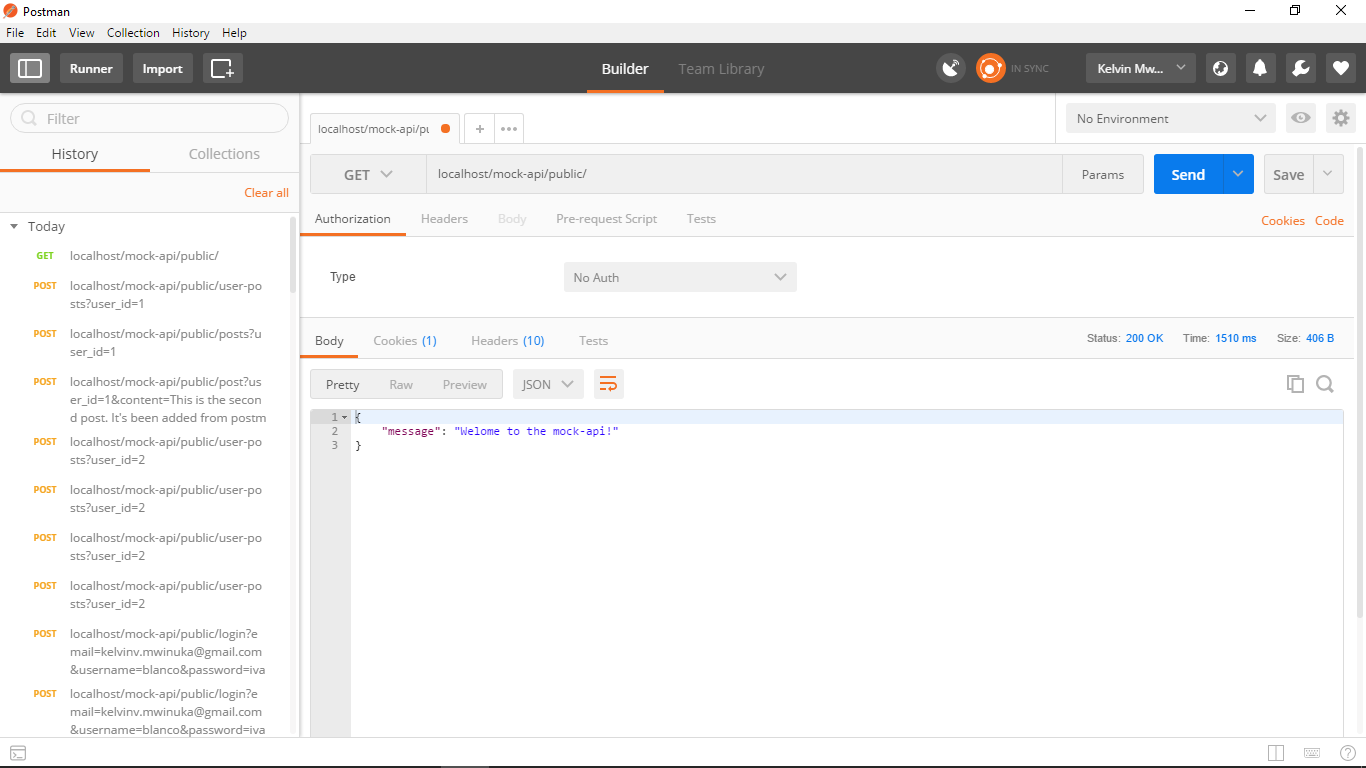 Creating an API and Testing With Postman - Kelvin - Medium