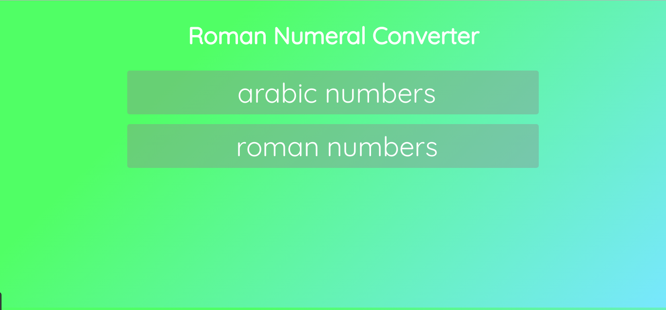 Create a Roman Numerals Converter in Javascript - Noteworthy