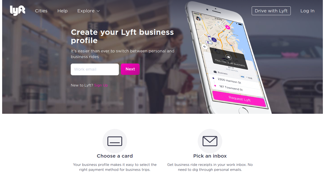 Business Ride-Sharing Market: One of the most interesting