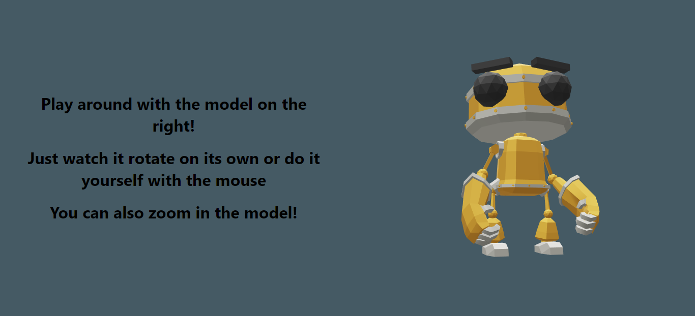 The model-viewer demo we are going to create
