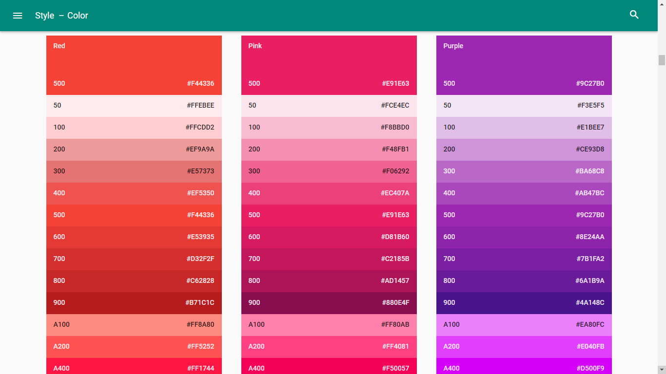 A Guide To Google Material design - Beginner's Guide to
