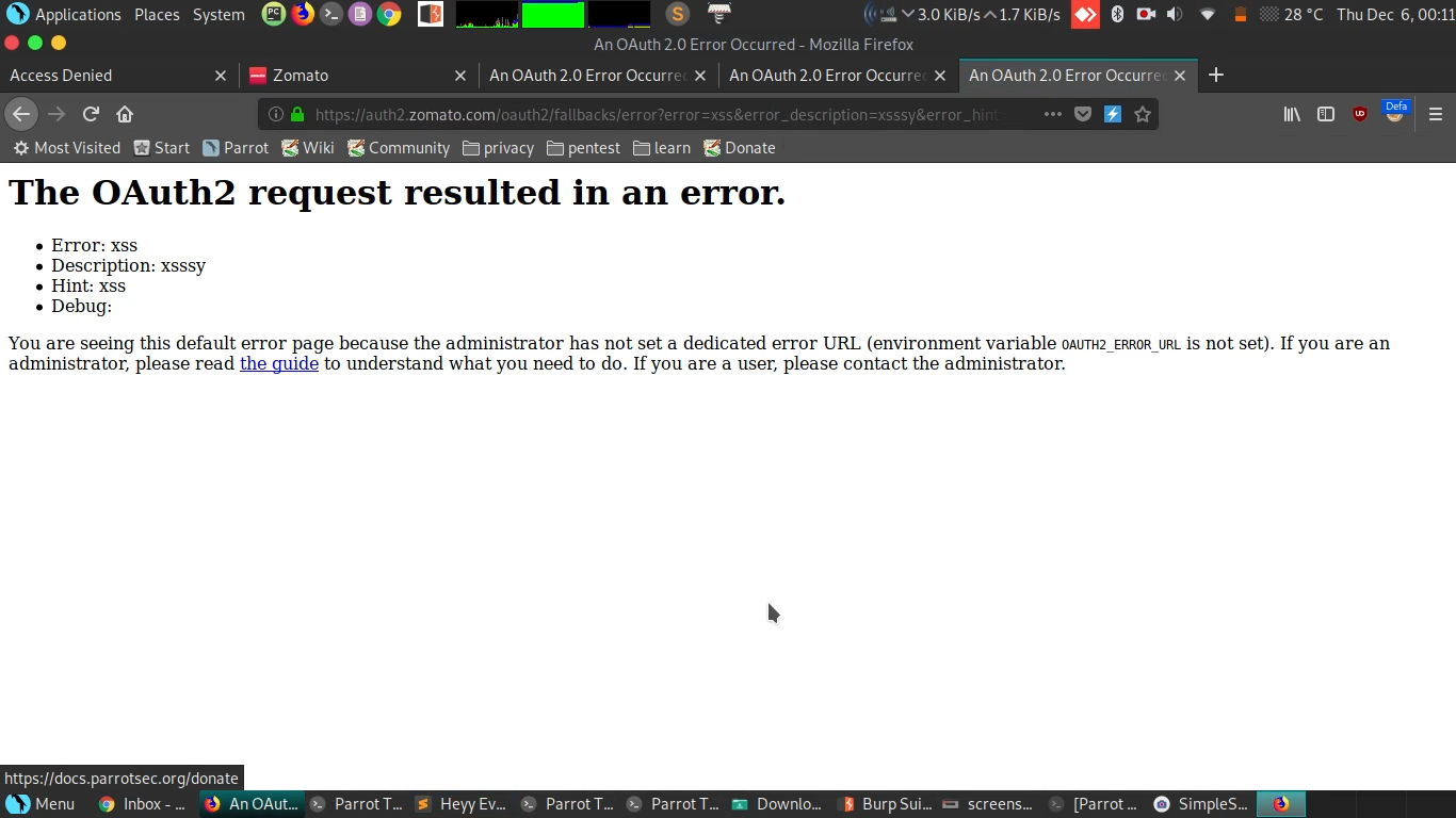 Reflected XSS in Zomato - Noteworthy - The Journal Blog