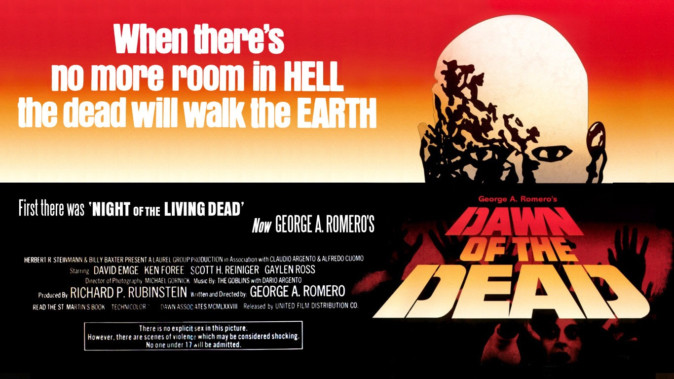 Dawn Of The Dead When There S No More Room In Hell The Dead Will