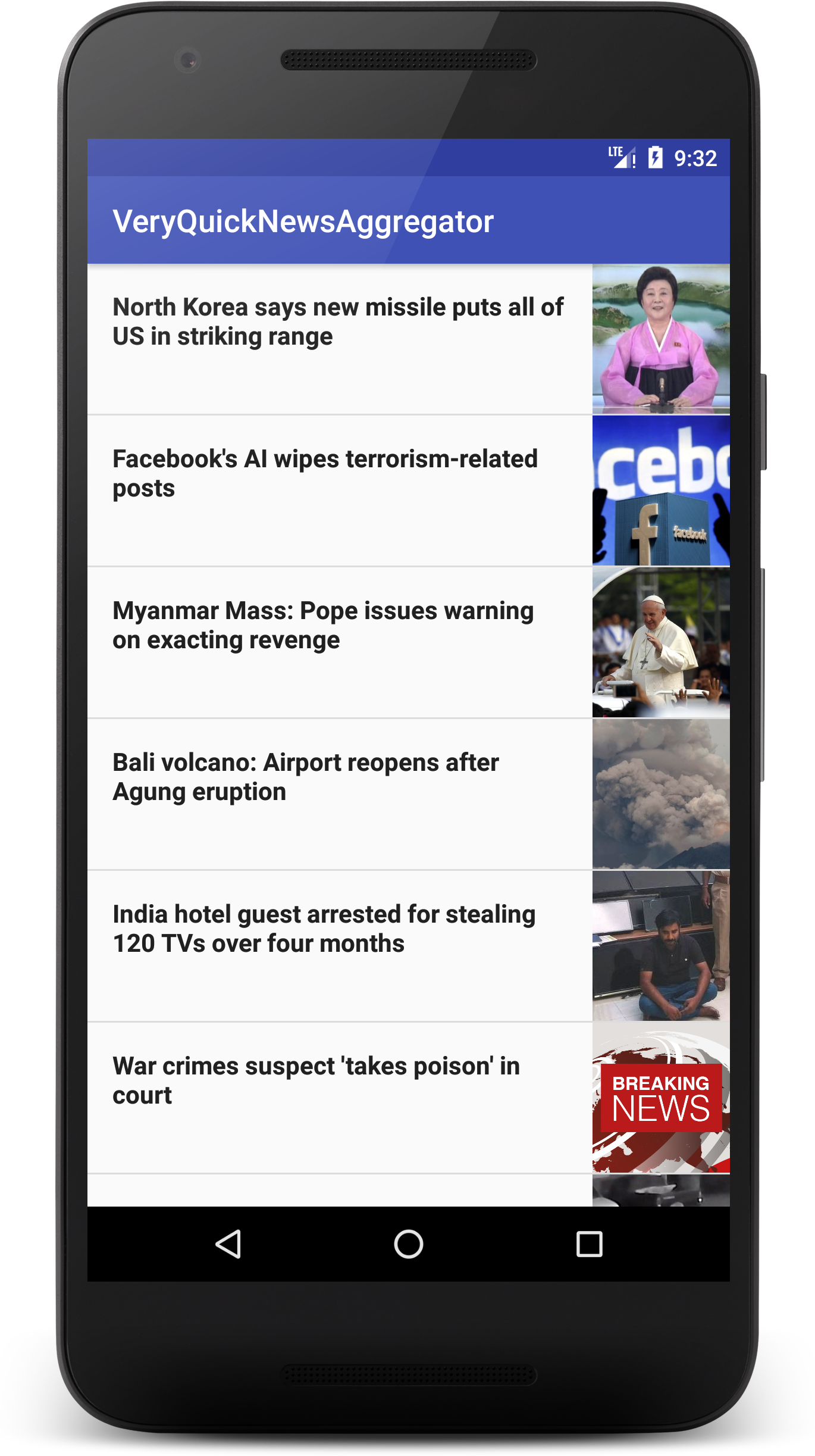Build A BBC World News Aggregator App In 35 Minutes