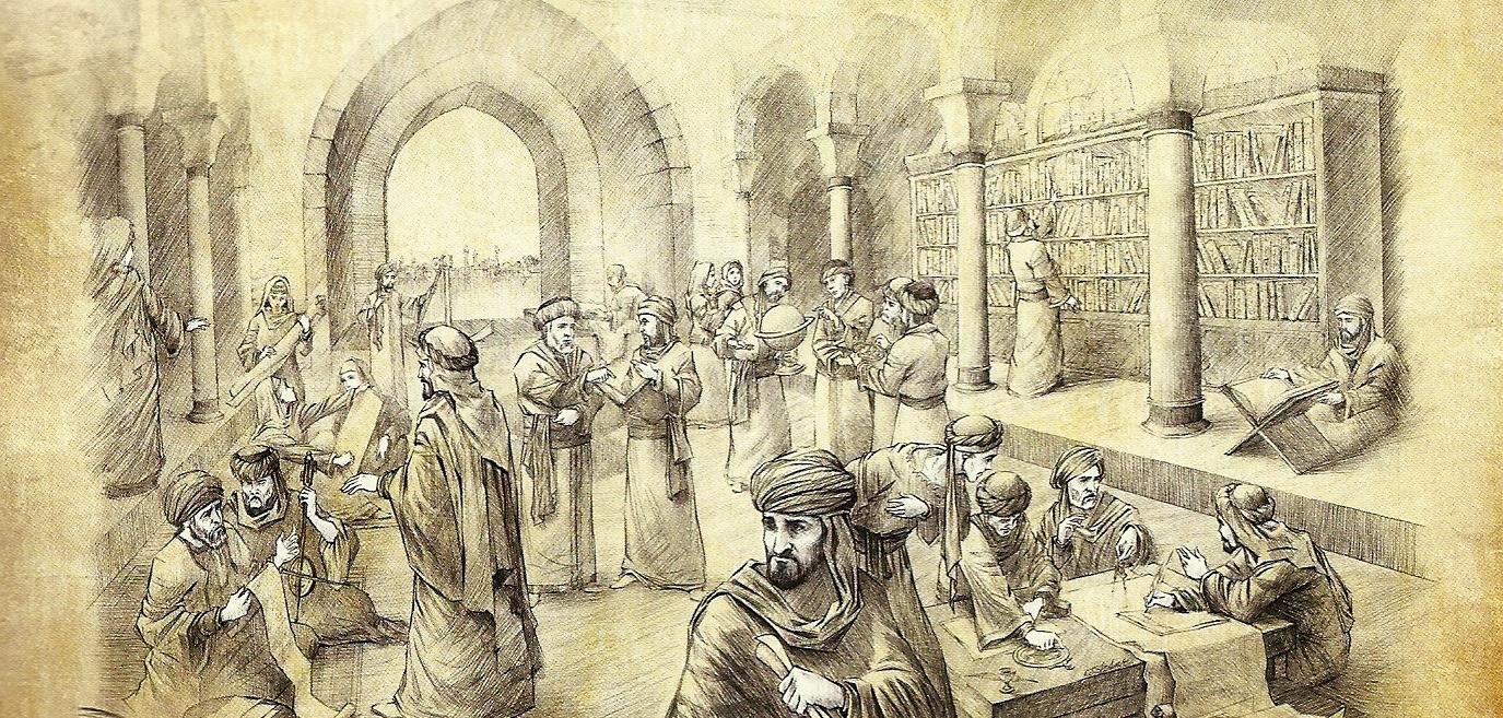 The Time When the House of Wisdom Was Drowned to Death   by Fareeha Arshad    History of Yesterday