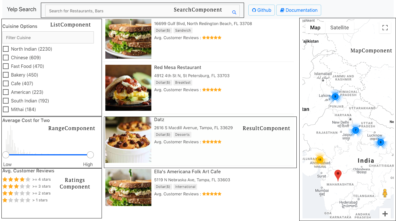 How To Build A Yelp like Search App using React and