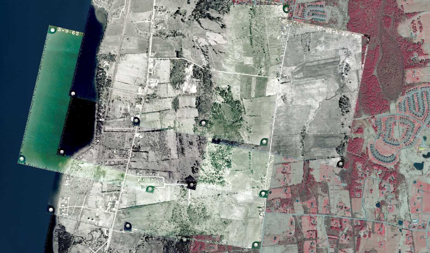 Georeferencing Vermont's Historic Aerial Imagery in QGIS