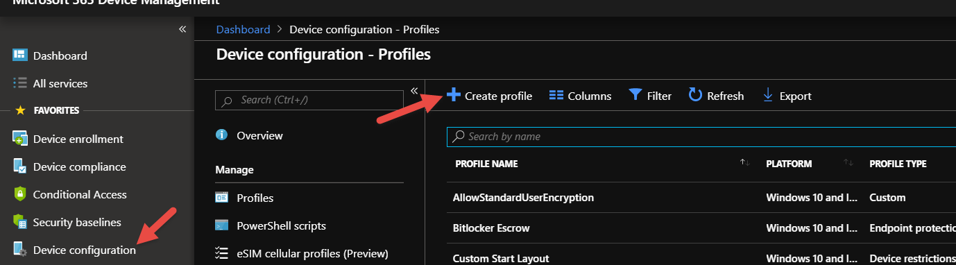 Create a GPO Admin Template Configuration Policy for Windows