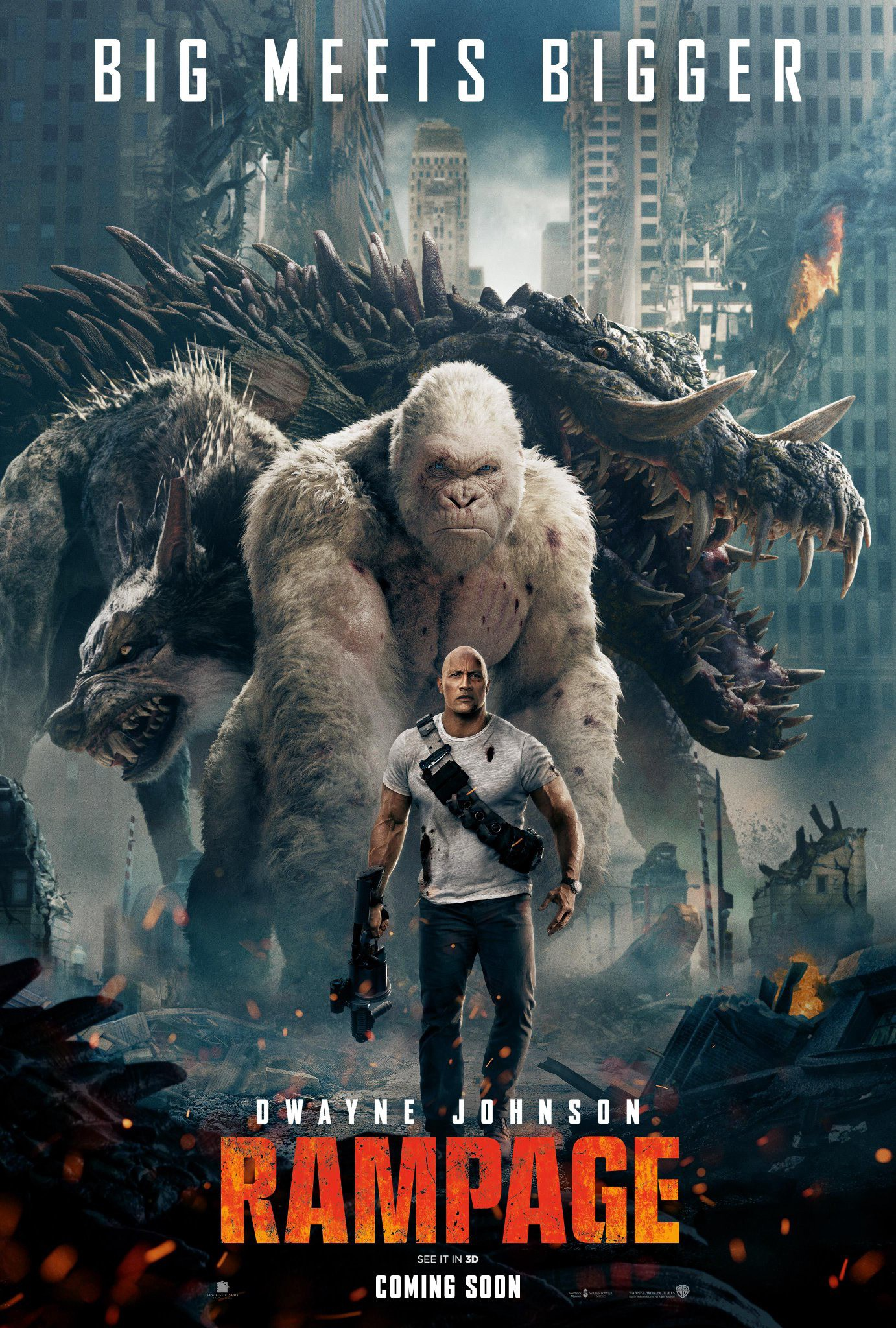 Rampage Among The Movie S Many Lessons Be By Cinema