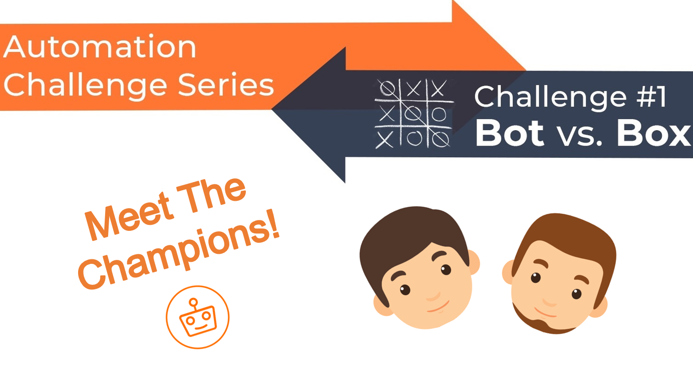 Building bots like a Boss: Meet our RPA Express champions