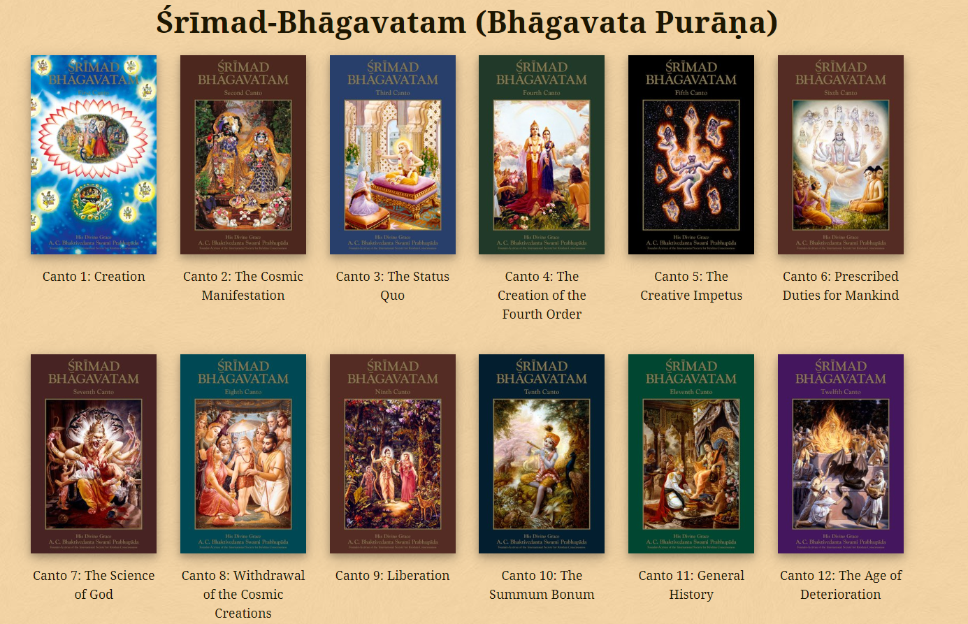 The Timeless Wisdom. Srimad-Bhagavatam, an epic… | by Niladri Bihari Nayak | Medium