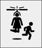 Helicopter parent icon