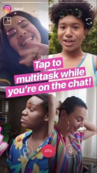 Instagram Rolled Out Their Direct Video Chat Today!