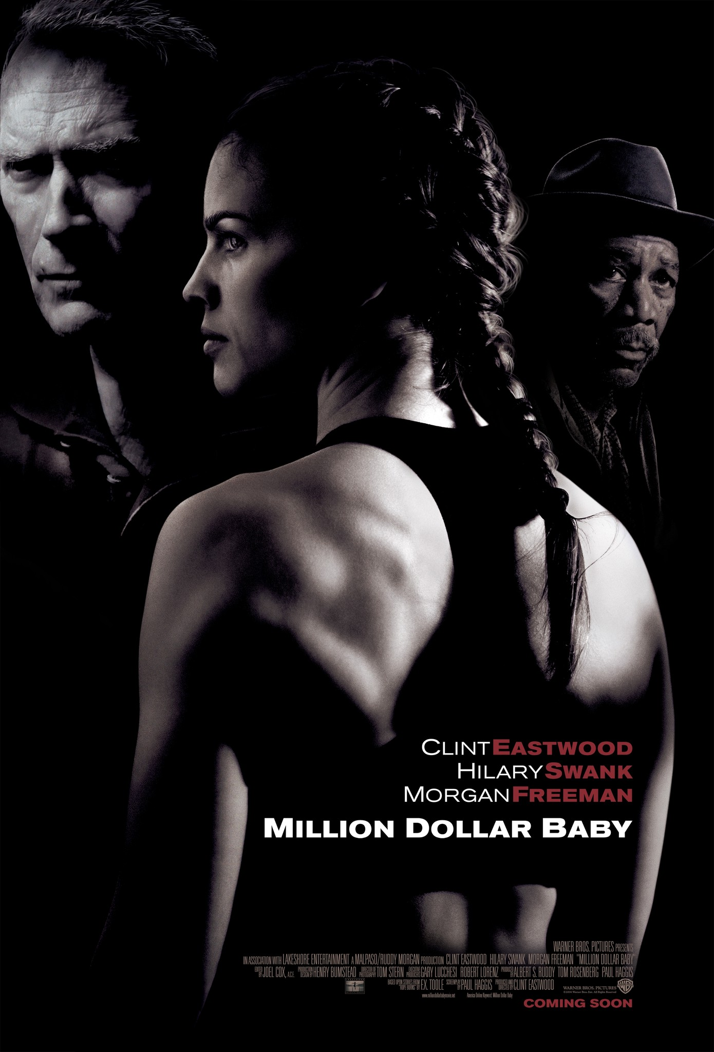 Poster for the film Million Dollar Baby