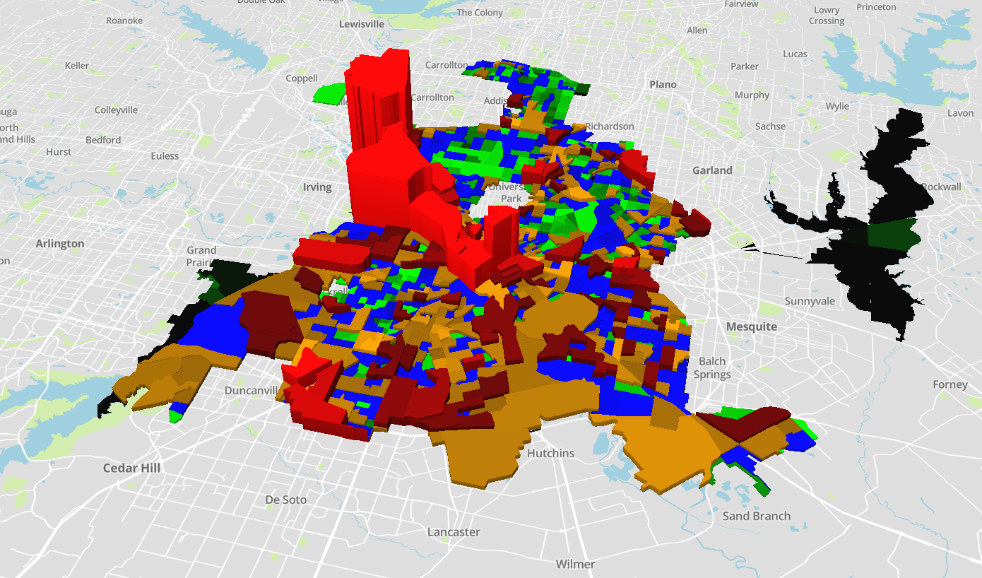 The State of Crime in Dallas - TheMap - Medium