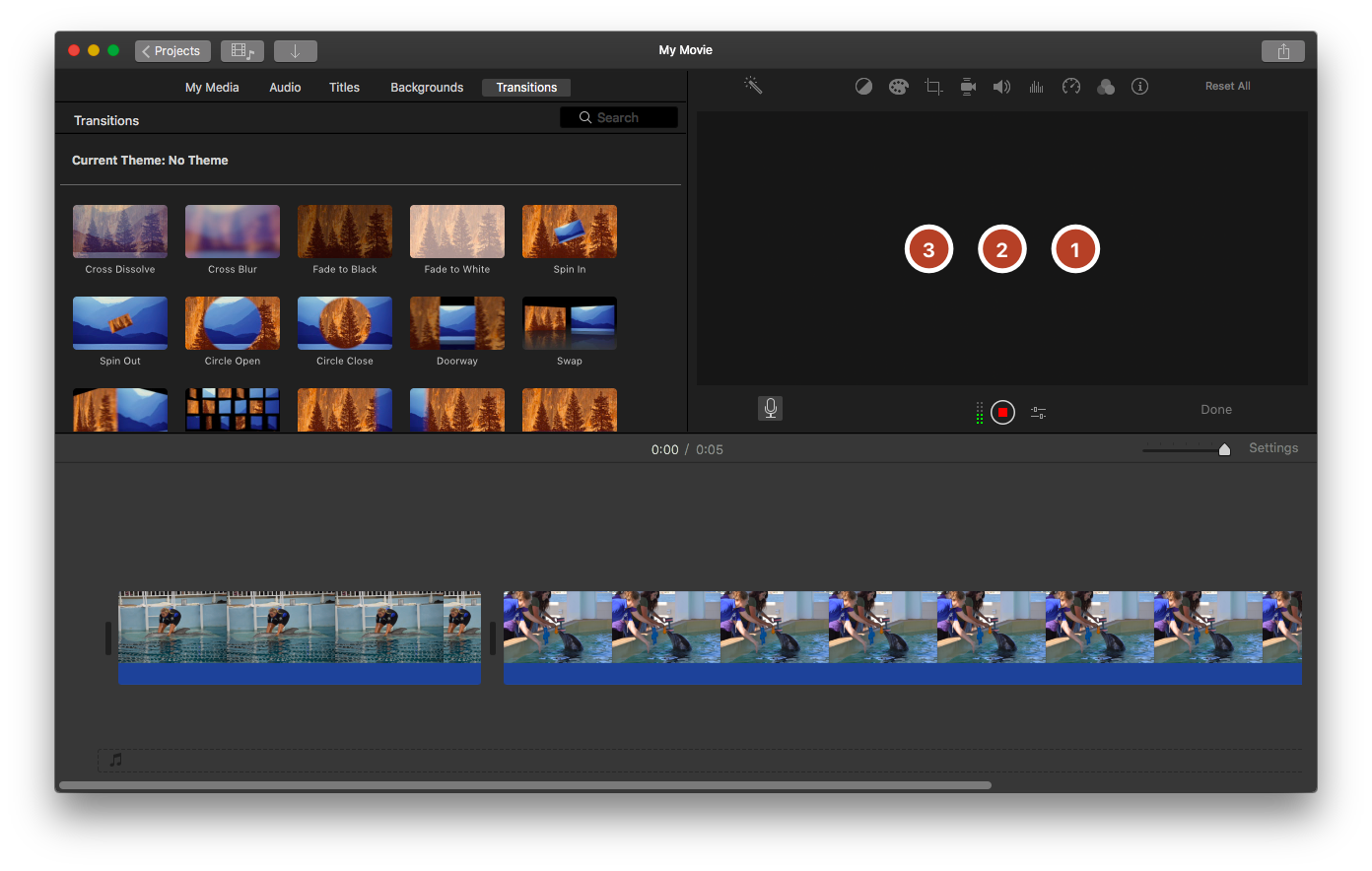 How to Make a Slideshow with Voiceover and Music in iMovie