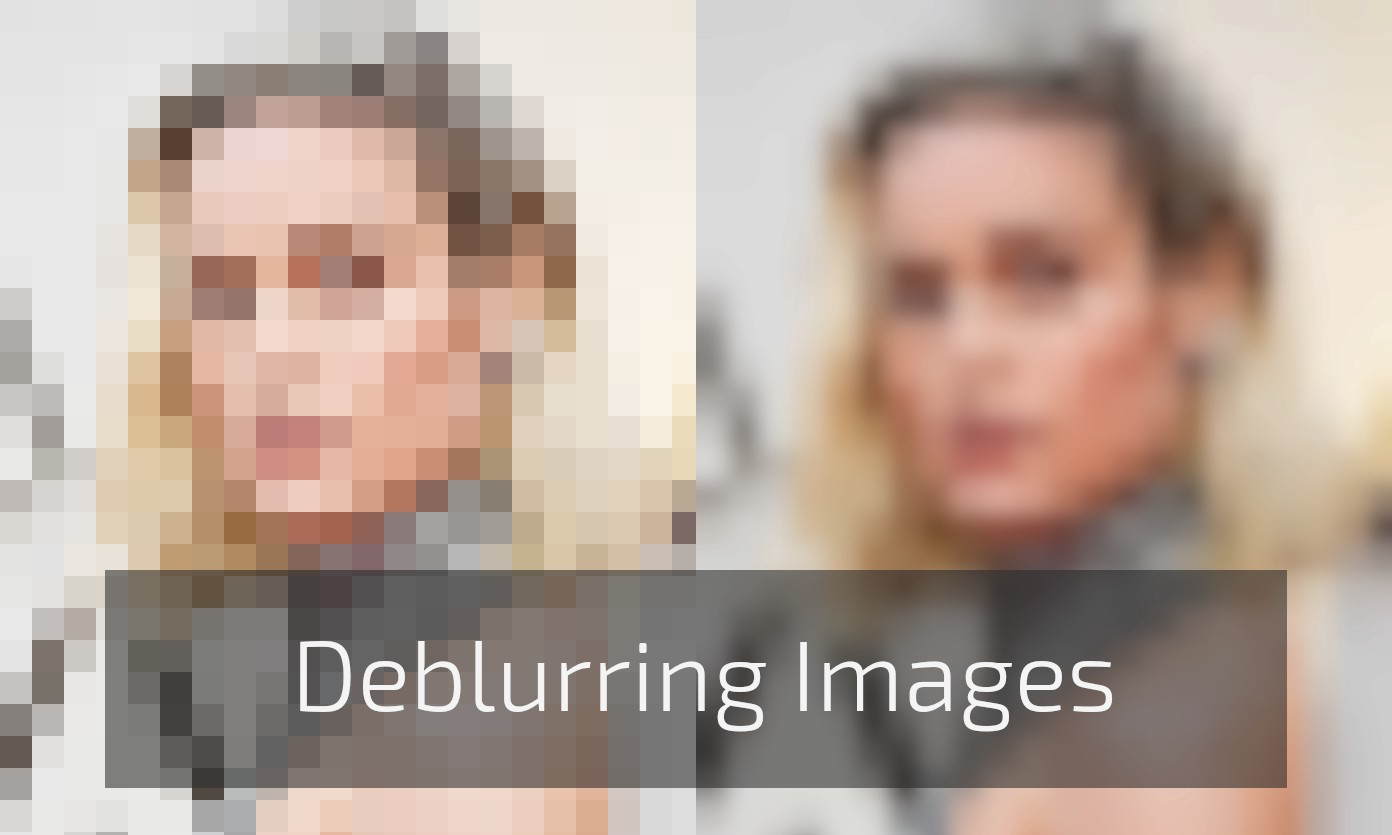 Deblurring images for OSINT — Part 2