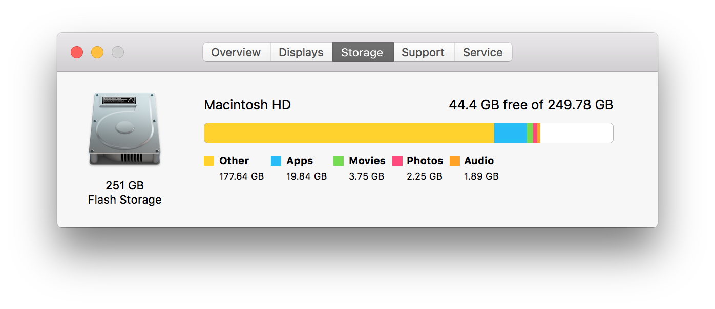 Easily recover disk space on your development Mac - The