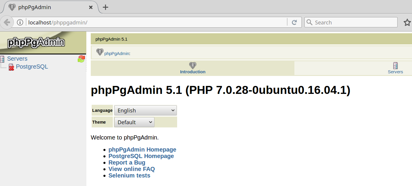 How to install PostgreSQL and phpPgAdmin - Deepak Aggarwal