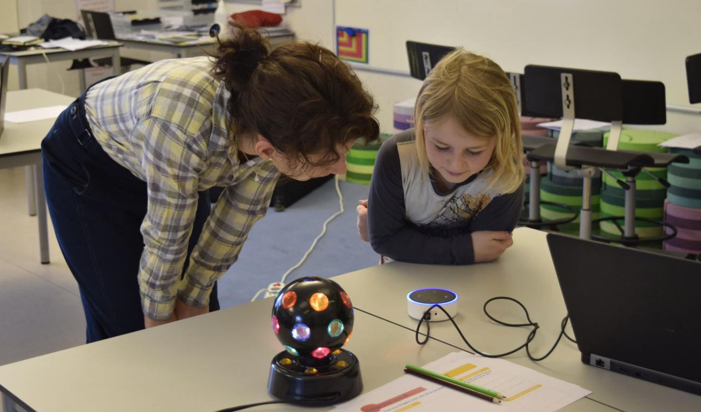Kids teach AI a little humanity with Cognimates - MIT MEDIA