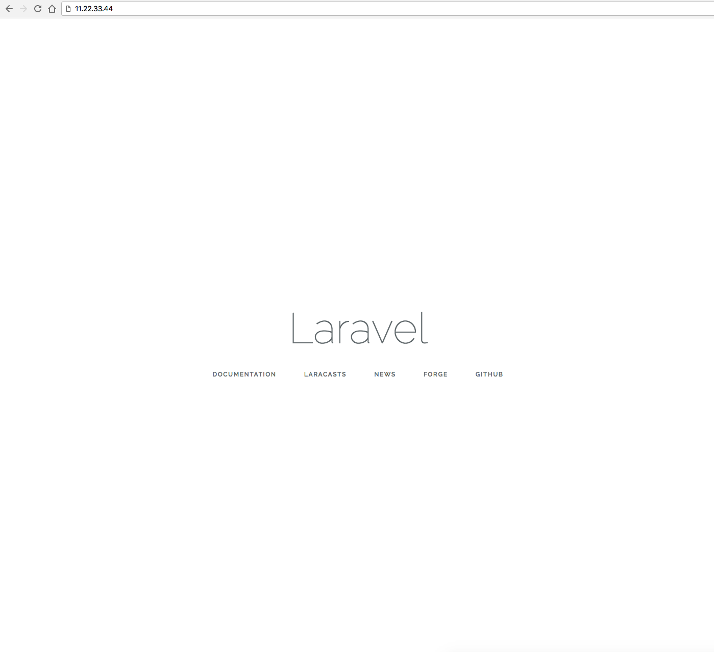 Step-by-Step Guide: Manually deploying a Laravel app running
