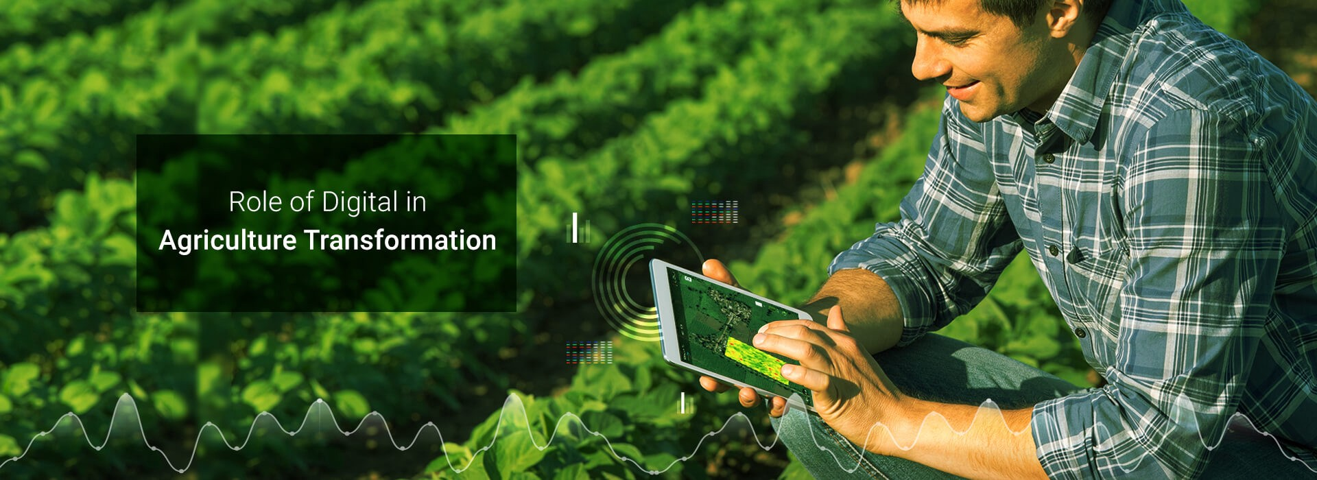 """Banner Image: """"Role of Digital in Agriculture Transformation"""""""