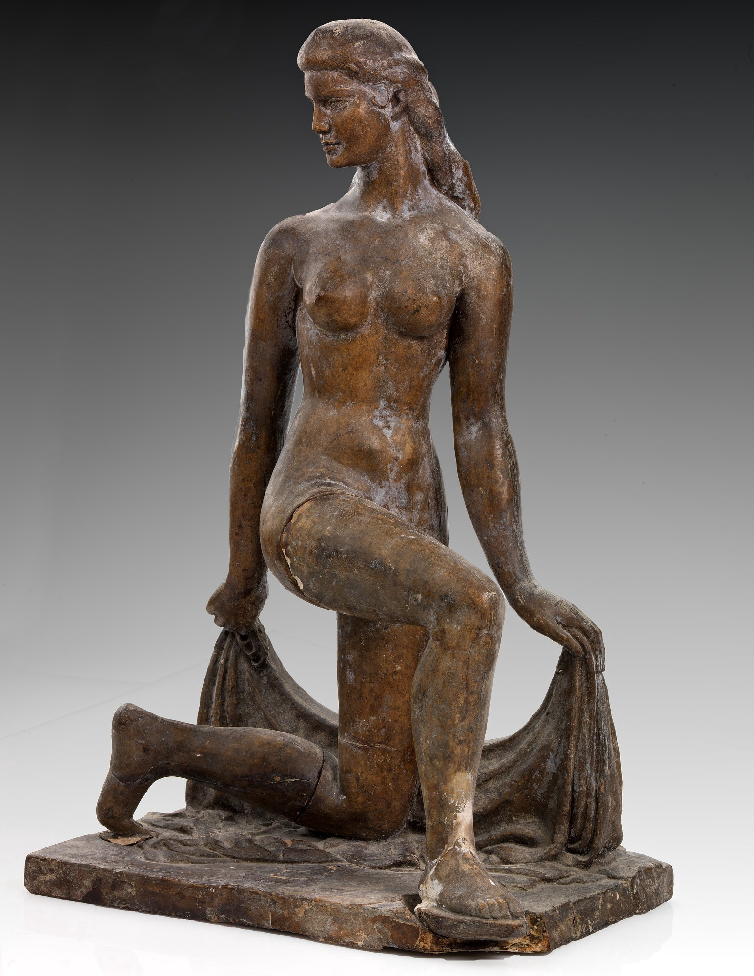 Spirit of the Dance (plaster study) by William Zorach, via the Smithsonian American Art Museum.
