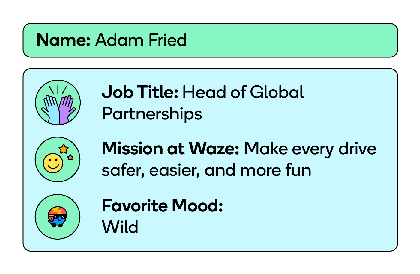 Adam Fried, the Head of Global Partnerships at Waze, helped make the CarPlay integration possible.