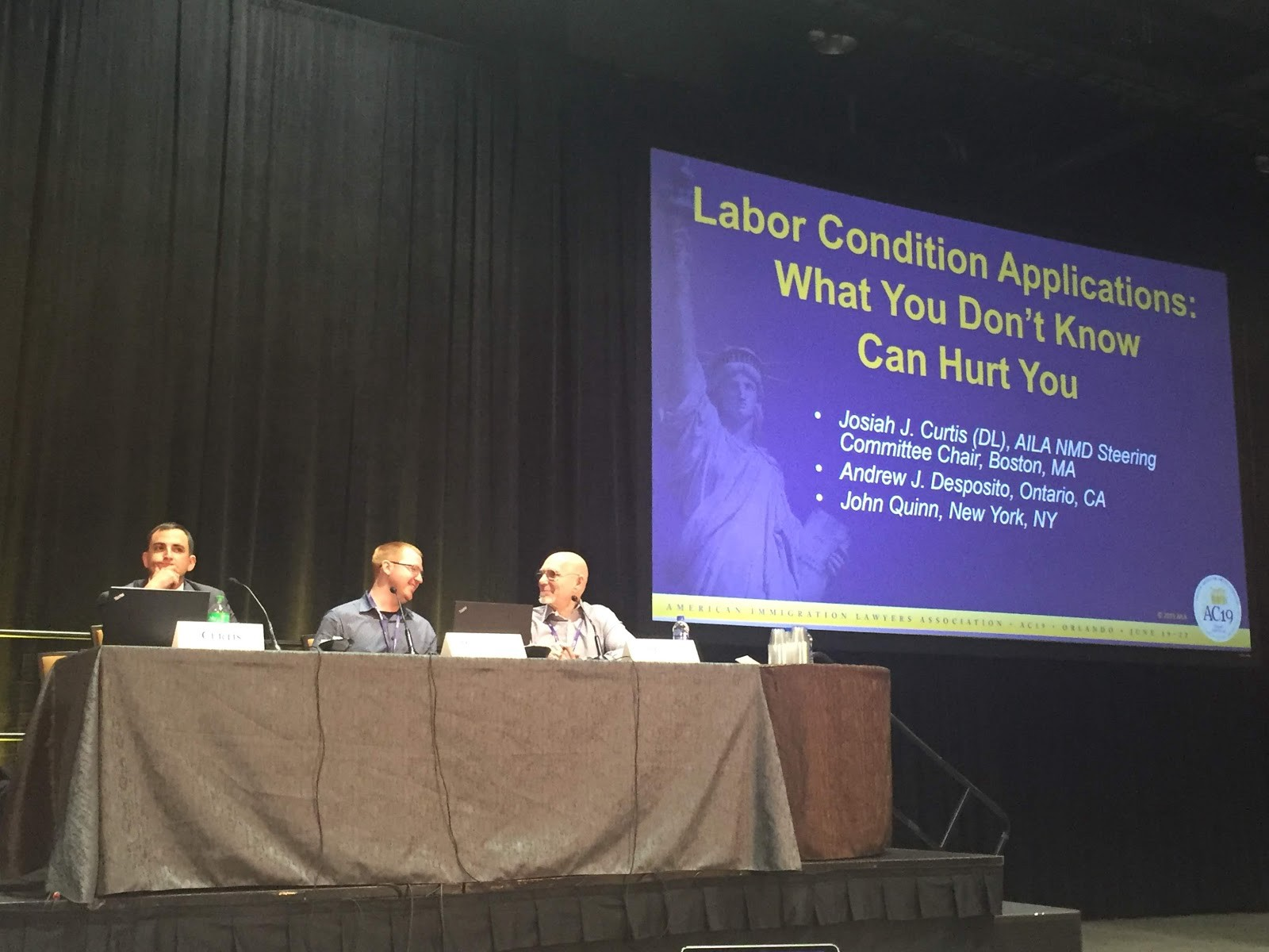 What I Learned About the Labor Condition Application at AILA