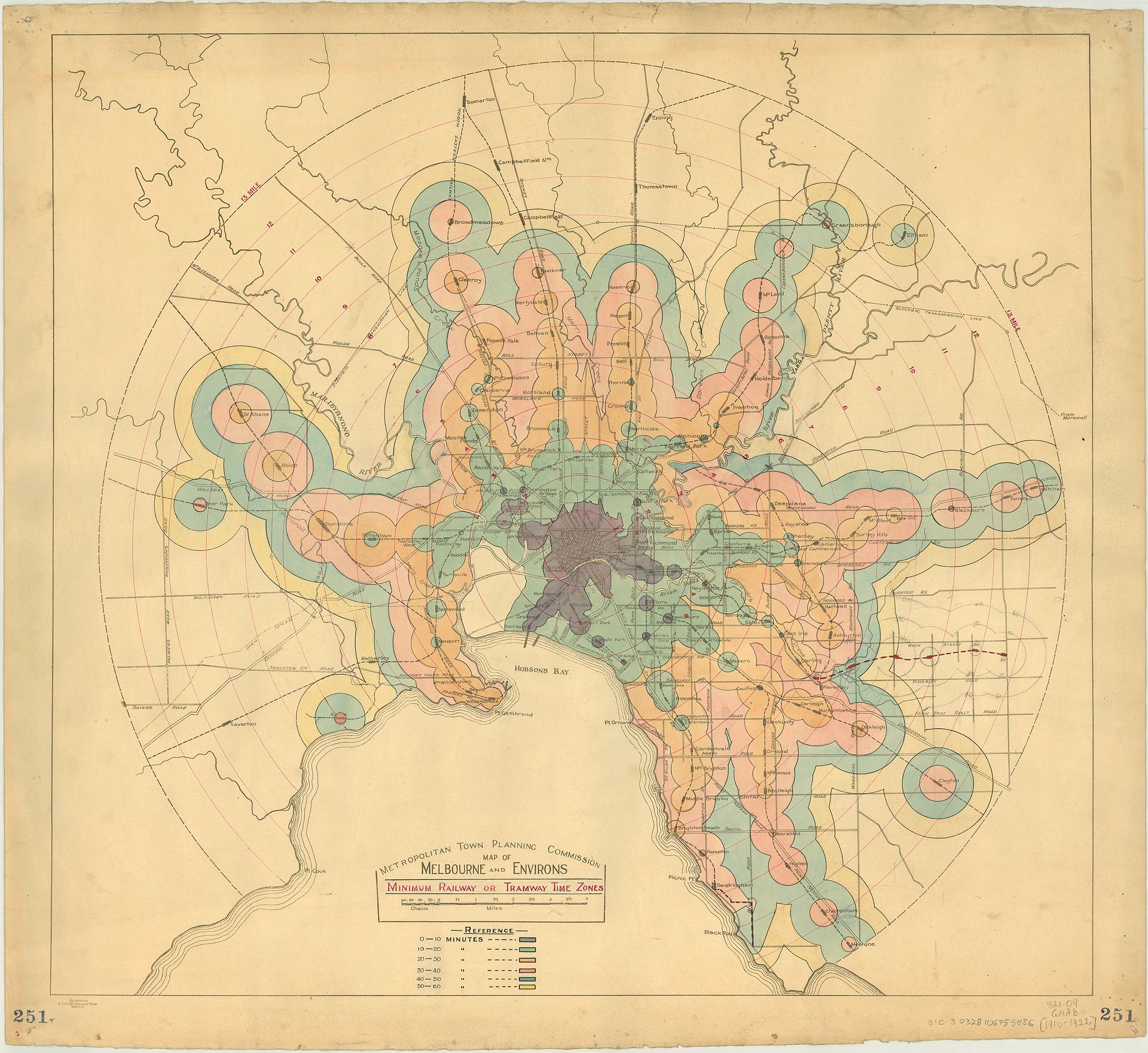 A new kind of map: it\'s about time - Points of interest